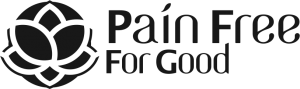 Pain Free For Good Logo Horiz in Black